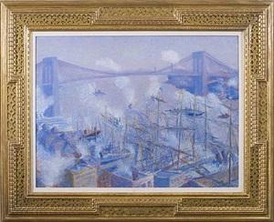 brooklyn bridge by theodore earl butler