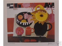 orange mug by mary fedden