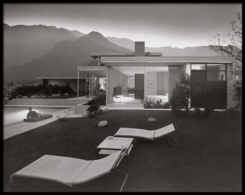 portfolio #12 - kaufman house by julius shulman