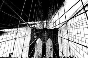 brooklyn bridge (033xx) by benjamin scott keith