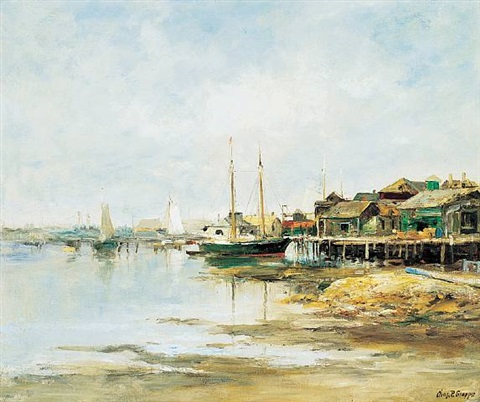 boothbay harbor, maine by charles paul gruppe