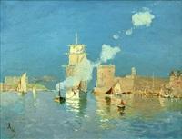l'entrée du port de marseilles by frank myers boggs