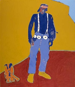 santa fe art auction, november 10, 2007 by fritz scholder