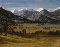estes park colorado by albert bierstadt