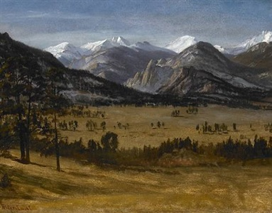 santa fe art auction, november 10, 2007 by albert bierstadt