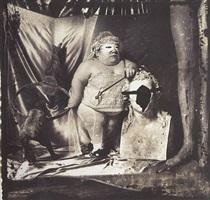 portrait of dwarf by joel-peter witkin