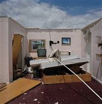 motel room, west edge of greensburg, kansas, june 19, 2007 by larry schwarm