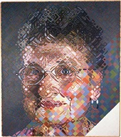 shirley by chuck close
