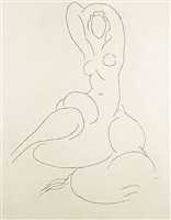 nu pour cleveland by henri matisse