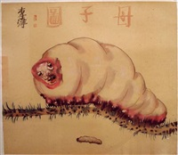 daily pleasures series (silkworm) by li jin