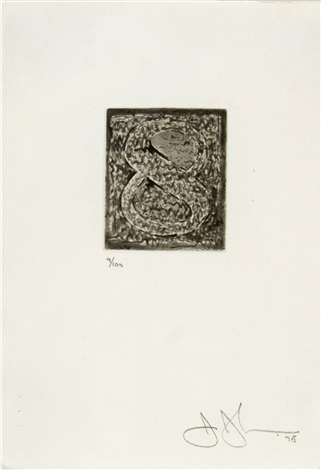 artwork 8 by jasper johns