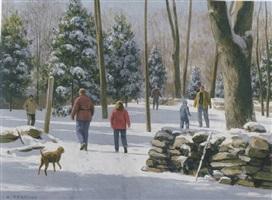 winter greetings by alexander farnham