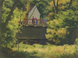 house by the canal, lumberville by alexander farnham