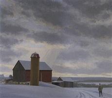 break in the clouds, tinicum, pa by alexander farnham
