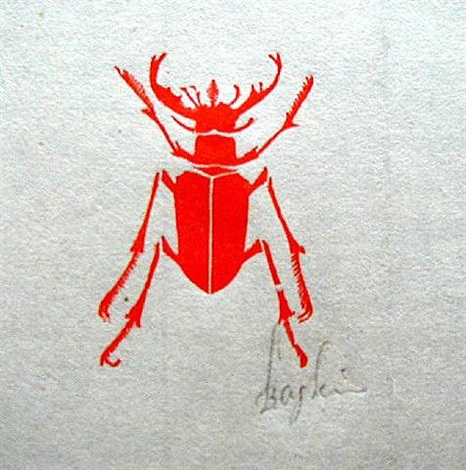 beetle by leonard baskin