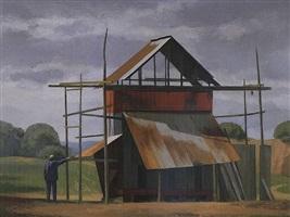 grain dryer, bucks county by alexander farnham