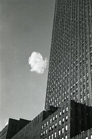lost cloud by andré kertész