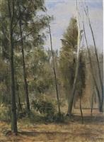 autumn woods by alexander farnham