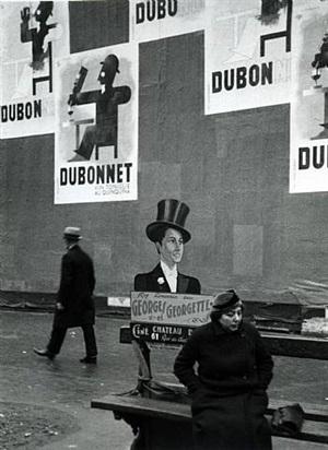 on the boulevards by andré kertész
