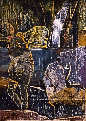 wading pool by romare bearden