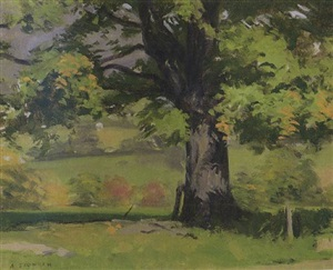 tree on the hill - sold by alexander farnham