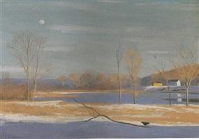 delaware river, outside of stockton by alexander farnham