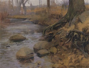 along the creek - sold by alexander farnham