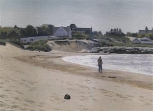 beach at watch hill, ri by alexander farnham