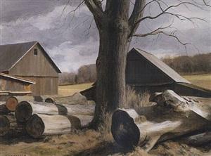 sawmill logs by alexander farnham
