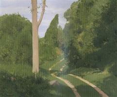 sunlit road by alexander farnham