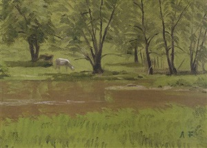 fertile meadow by alexander farnham