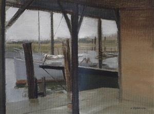 fishing docks by alexander farnham