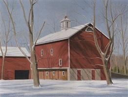 old barn, tinicum park by alexander farnham