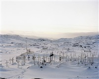 grave yard / llulissat by naoki ishikawa