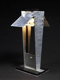 table lamp by jacques le chevallier and robert koechling