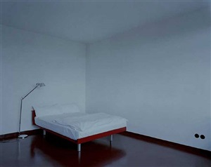 untitled (bauhaus bed) by lynne cohen