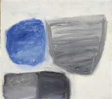 forms - blue/grey by john blackburn