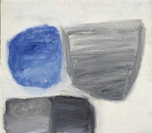 forms - blue/grey by john blackburn