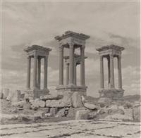 tetrapylon, palmyra, syria by lynn davis
