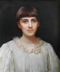 Pre-Raphaelite Woman, 1892