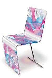 """chaise """"kaos"""" by karim rashid"""