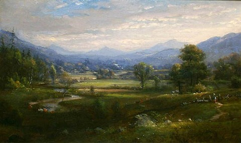 otter creek valley by martha wood belcher