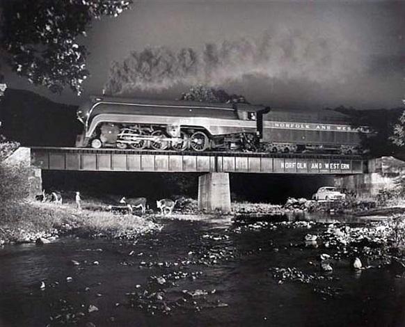 train #2, arcadia, va by o. winston link