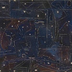 cosmogonie lunaire palimpseste by georges noël