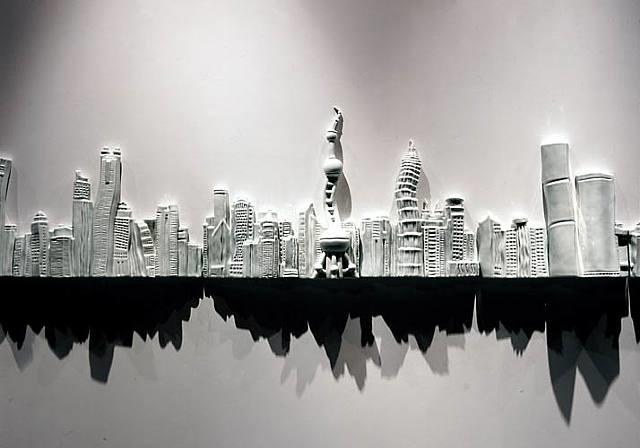 reflection in water by liu jianhua