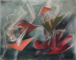 composition by paule vézelay