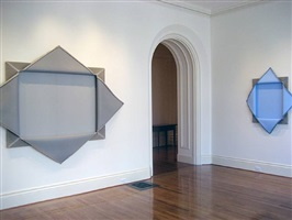 installation view of donald moffett