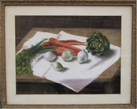 vegetable still life #2 by gladys rockmore davis