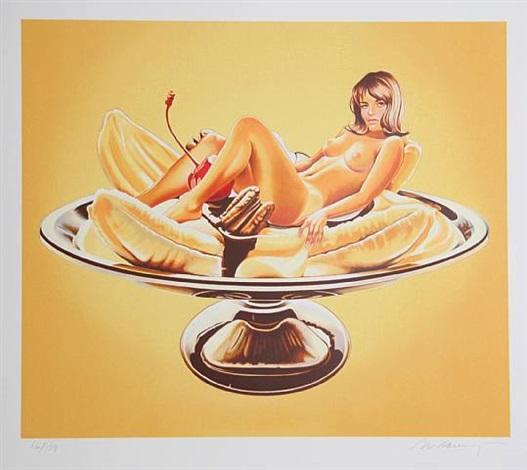 banana split by mel ramos