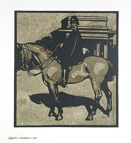 policeman (constitution hill) by william nicholson